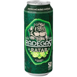 Radegast Ratar 0,5l can