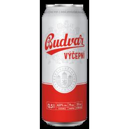Budweiser Budvar Draft beer...